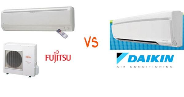 Mua điều hòa Daikin hay Fujitsu