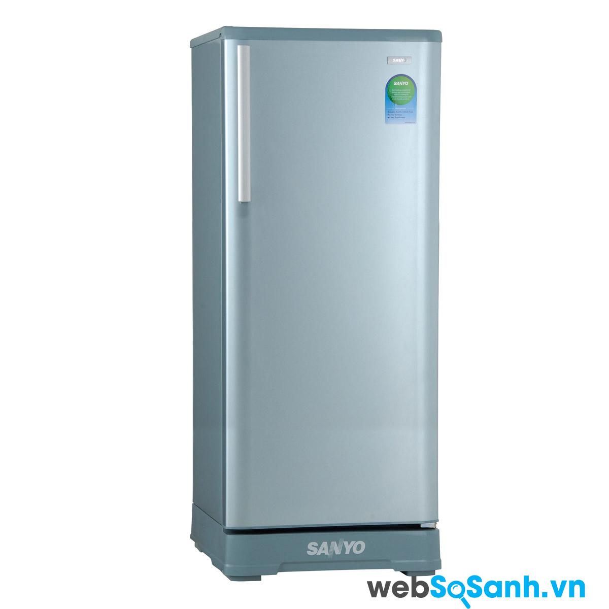 Tủ lạnh Sanyo được nhiều người tiêu dùng Việt Nam ưa thích sử dụng