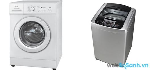 Sanyo AWD-700T và LG WFD8515DD (nguồn: internet)
