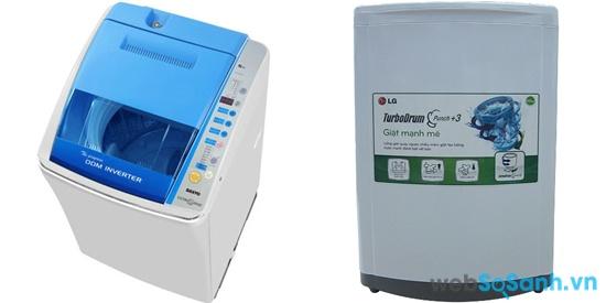 Sanyo ASW-D900HT và LG WFS1015TT (nguồn: internet)