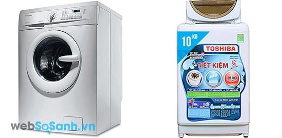 Toshiba AW-B1100GV và Electrolux EWF8555 (nguồn: internet)