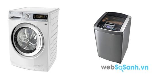 Electrolux EWF10932 và LG WFD1617DD (nguồn: internet)