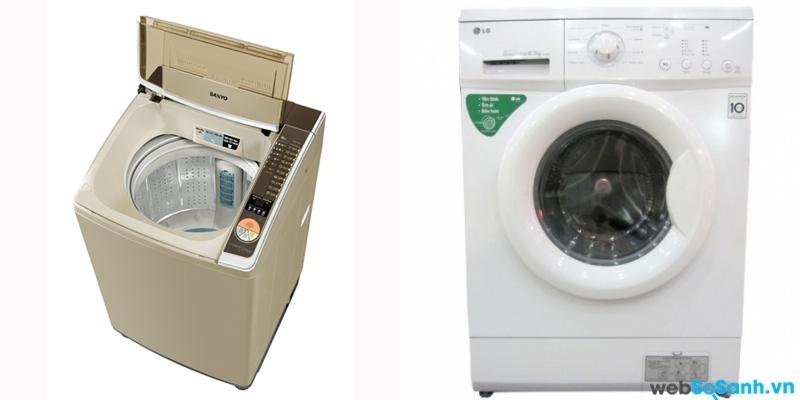 Sanyo ASW-U125ZT và LG WD8888 (nguồn: internet)