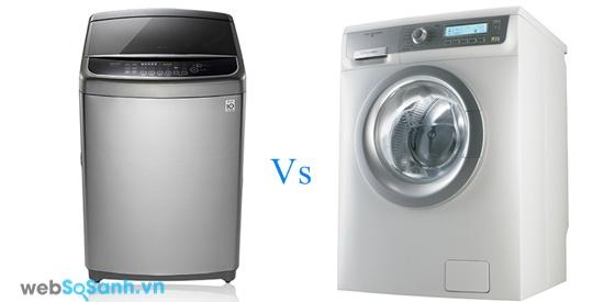 LG WFD1517HD và Electrolux EWF882 (nguồn: internet)