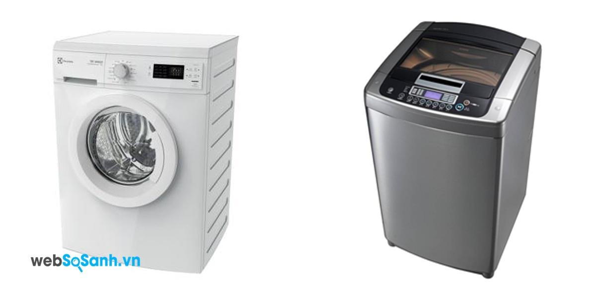 Elextrolux EWP85752 và LG WFD1219DD (nguồn: internet)