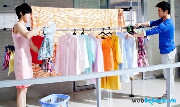 Giặt quần áo với chế độ giặt phù hợp sẽ cho hiệu quả tốt hơn (nguồn: internet)