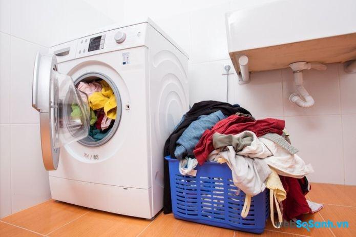 Khối lượng giặt là một trong những tiêu chí quan trọng khi lựa chọn máy giặt (nguồn: internet)