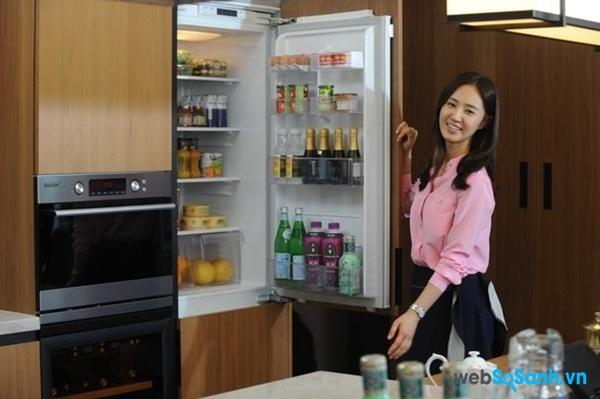 Công nghệ làm lạnh không đóng tuyết giúp tủ lạnh hoạt động hiệu quả (nguồn: internet)