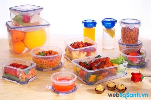 Đóng hộp thức ăn trước khi bảo quản trong tủ lạnh (nguồn: internet)