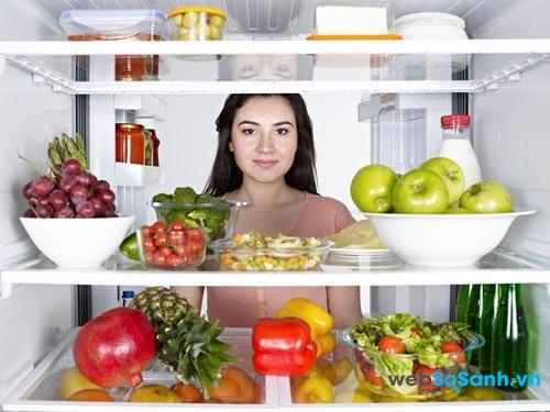 Tính năng làm lạnh không đóng tuyết giúp tủ lạnh tiết kiệm điện hơn (nguồn: internet)