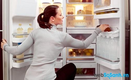 Cần vệ sinh tủ lạnh thường xuyên (nguồn: internet)