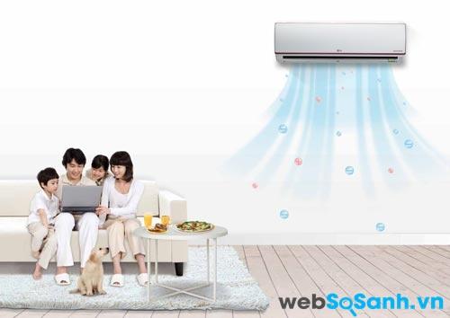 Điều hòa được trang bị 3 tính năng công nghệ giúp tiết kiệm điện hiệu quả (nguồn: internet)