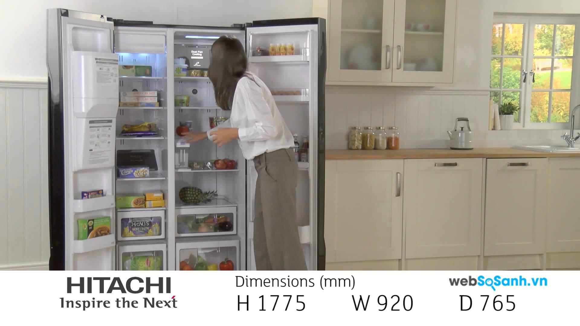 Hitachi là dòng tủ lạnh cao cấp được nhiều người ưa thích sử dụng
