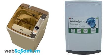 Sanyo ASWF800Z1T và LG WFS1015TT (nguồn: internet)