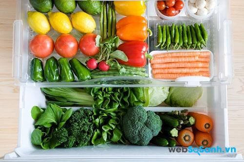 hệ thống làm lạnh Minus - Zero giúp thực phẩm không bị khô, không bị đông đá (nguồn: internet)
