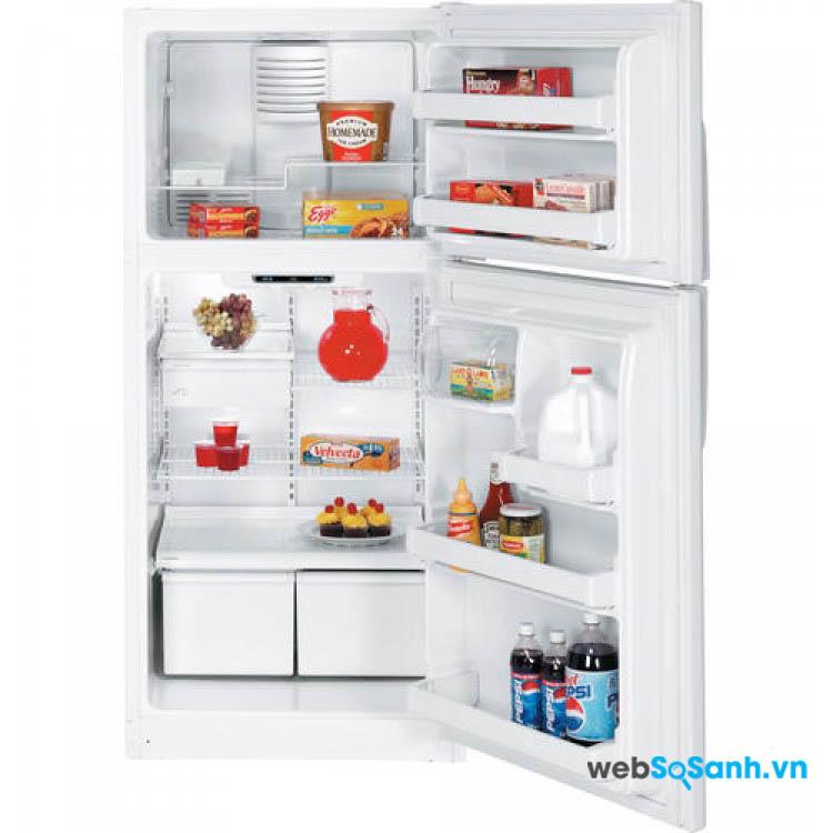 Tủ lạnh có ngăn đá trên cùng khá phổ biến hiện nay