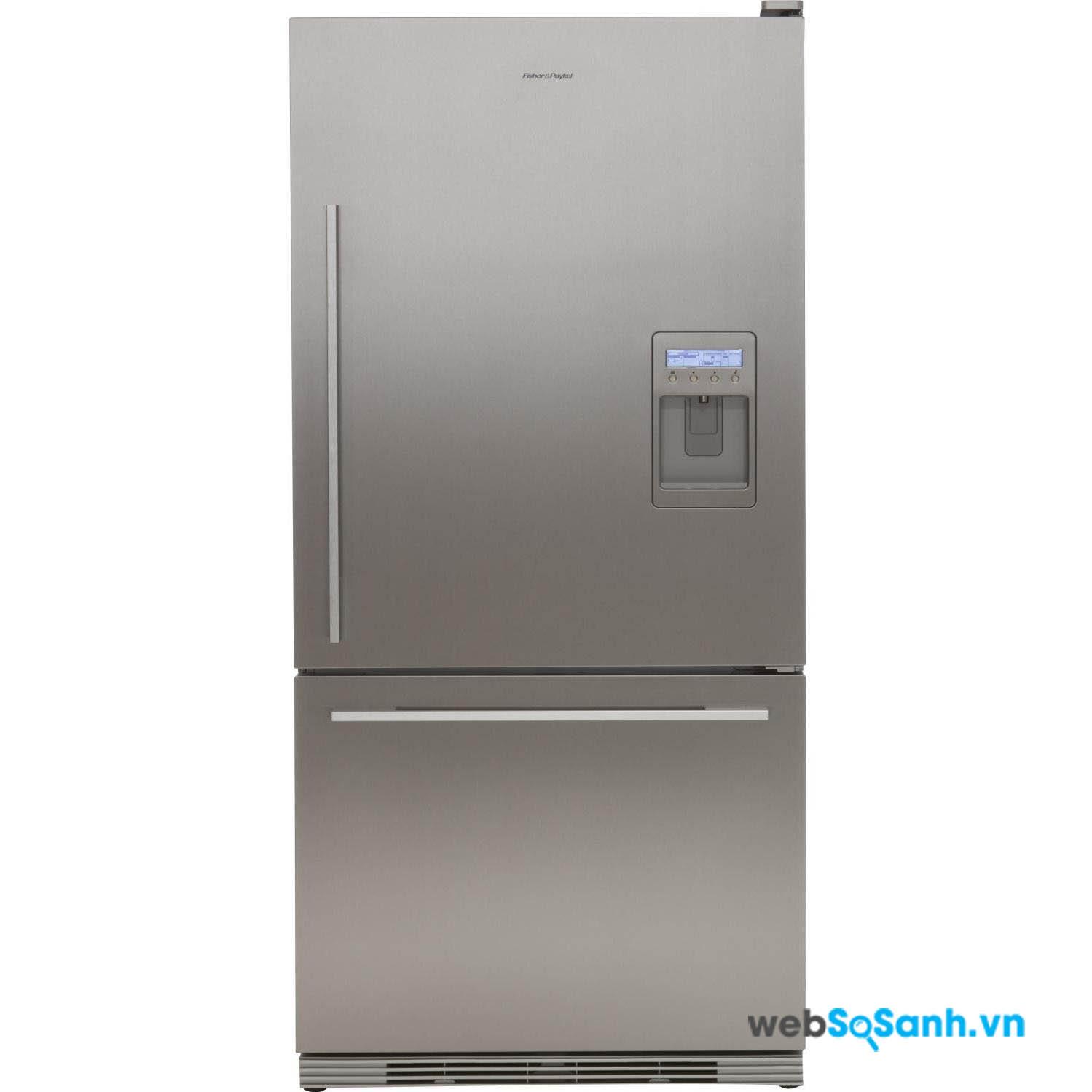 Tủ lạnh có ngăn đá nằm dưới cùng có khả năng làm đá tốt hơn với việc chứa nhiều thực phẩm đông lạnh hơn các loại tủ lạnh khác