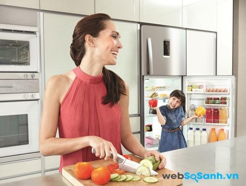 Tủ lạnh sử dụng máy nén biến tần kỹ thuật số Digital Inverter Compressor tăng độ bền hiệu quả