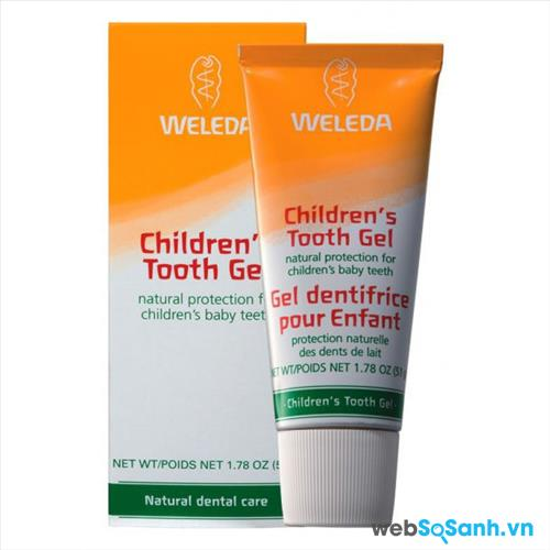 Kem đánh răng cho bé Weleda