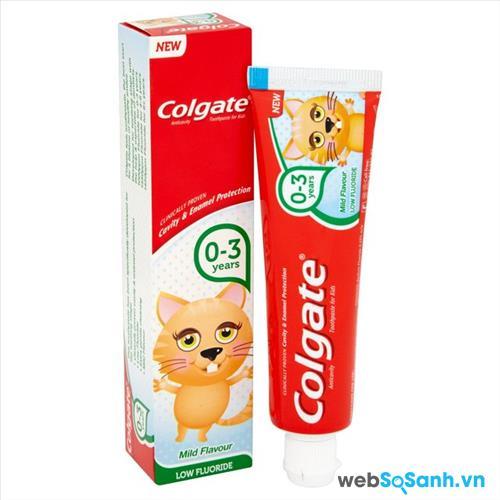 Kem đánh răng Colgate cho bé