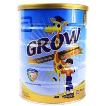 Sữa bột Abbott Grow School 6+ G - Powder cho trẻ trên 6 tuổi 900g (Mã SP: 030210)
