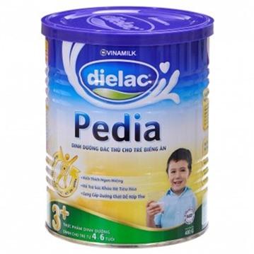 Sữa bột Dielac Pedia 3+ - hộp 400g (dành cho trẻ từ 3 tuổi trở lên)