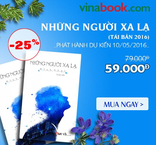 [ Vinabook.com ] Giảm ngay 25% khi mua