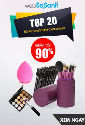 [ Websosanh.vn ] Top 20 bộ kit trang điểm chính hãng. Giảm giá lên đến 90%