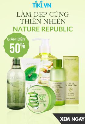 [ Tiki.vn ] Làm đẹp cùng thiên nhiên Nature Republic. Giảm tới 50%. Click XEM NGAY!