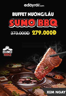 [ Adayroi.com ] Buffe nướng lẩu - SUMO BBQ. Giá chỉ  279k. Click XEM NGAY!