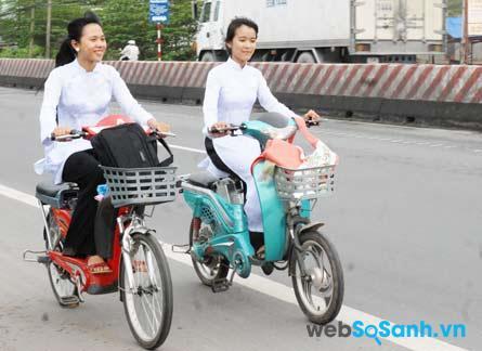 Xe đạp điện phù hợp với đi đường dài