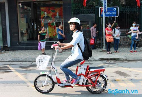 Xe đạp điện thường phù hợp với địa hình đường phố