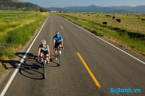 Xe đạp phù hợp với nhiều điều kiện đường đi