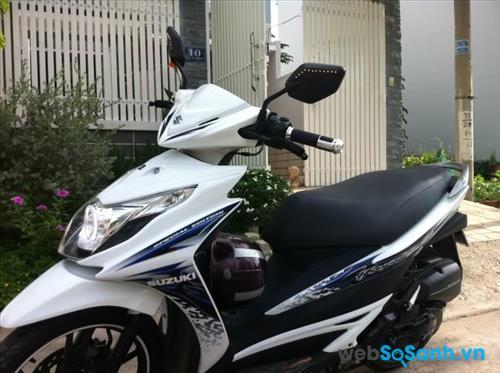Đánh giá xe Suzuki Hayate 125, chi tiết hình ảnh, giá bán thị trường