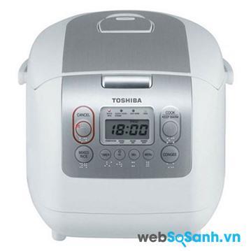Nồi cơm điện Toshiba RC-10NMF (RC10NMF) - Nồi điện tử, 1.0 lít