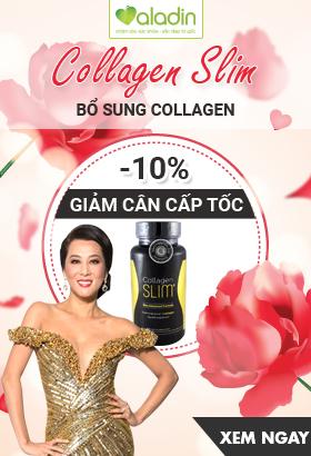[ Aladin.com.vn ] Collagen Slim - Giảm cân cấp tốc. Giảm 10%. Click XEM NGAY!